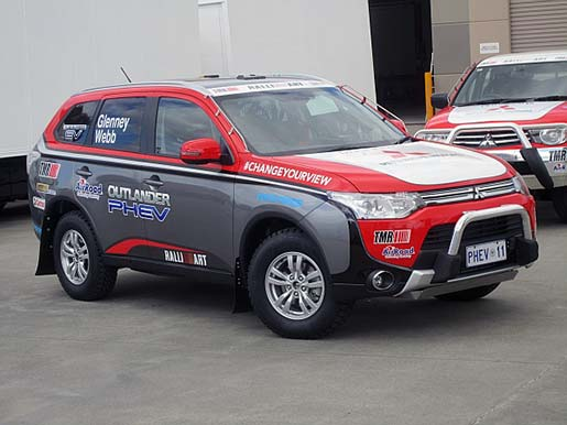 New Frontier For Outlander PHEV - Mitsubishi technical support